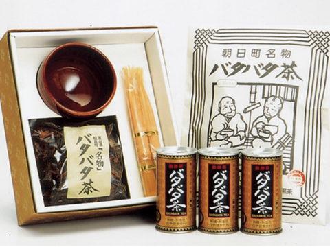 朝日町のバタバタ茶