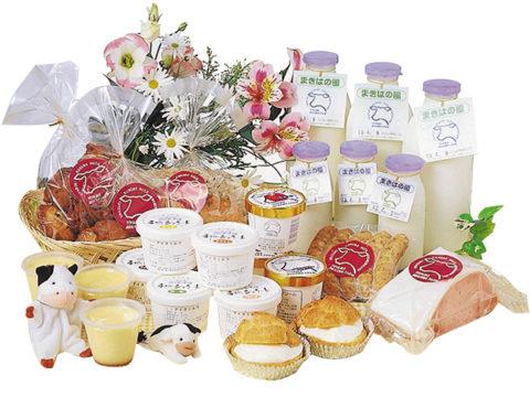 くろべ牧場の乳製品